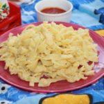 Домашняя кукурузная лапша рецепт
