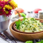 Салат с огурцом и яйцом пошаговый рецепт с фото