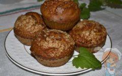 Тыквенные кексы в духовке
