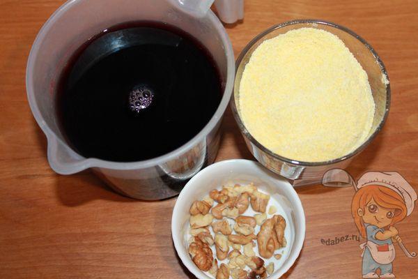 Ингредиенты для пеламуши