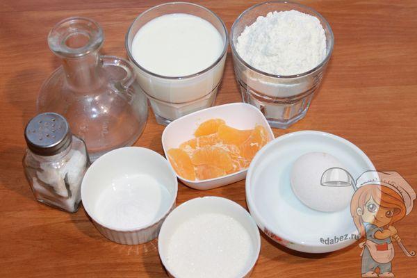 Продукты для оладий