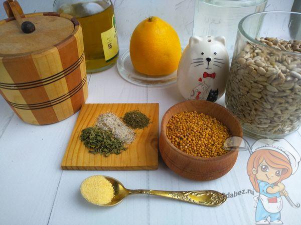 Ингредиенты для домашнего веганского майонеза