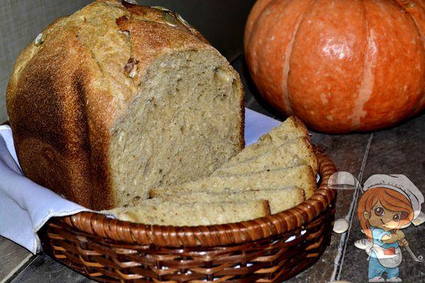 Хлеб с тыквой без дрожжей