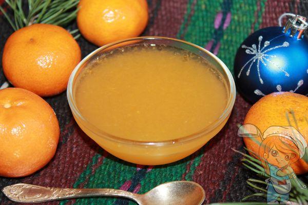 мандариновое желе рецепт с фото