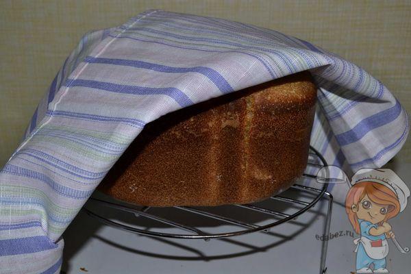 Вкусный домашний хлеб на помидорном рассоле