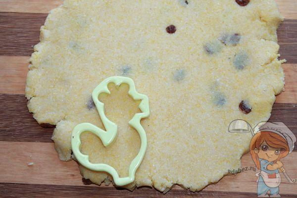 Вырезаем печенье