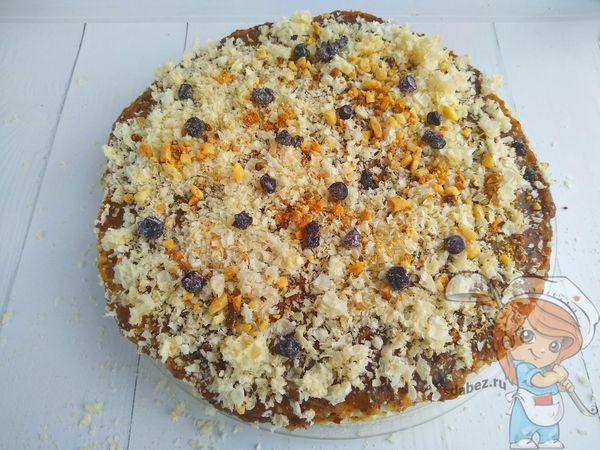 вкусный простой веганский торт