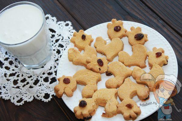 Печенье из кукурузной муки для детей аллергиков