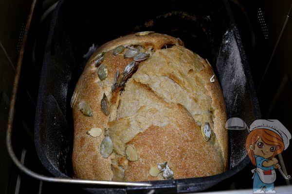 хлеб с добавлением тыквы