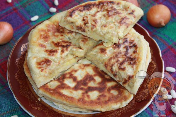 Лобиани с фасолью по грузински рецепт