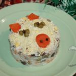 салат без колбасы на новый год