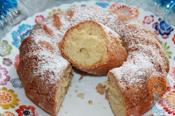 мскута -мандариновый кекс