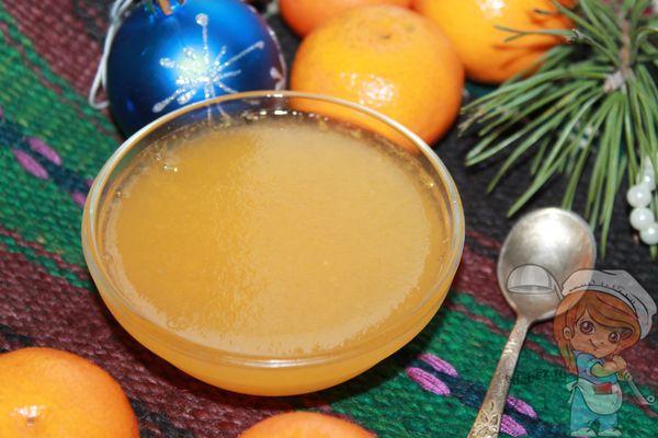 Мандариновое желе рецепт с желатином