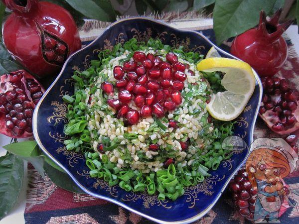Салат табуле с булгуром