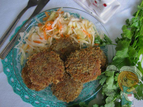 Котлеты без мяса из риса и чечевицы