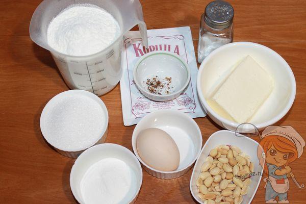 продукты для немецкого печенья