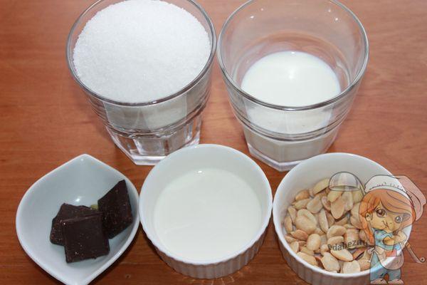 продукты для домашнего шоколада