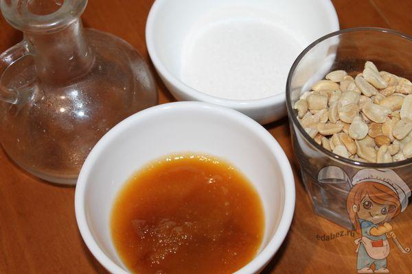 продукты для изготовления козинаков