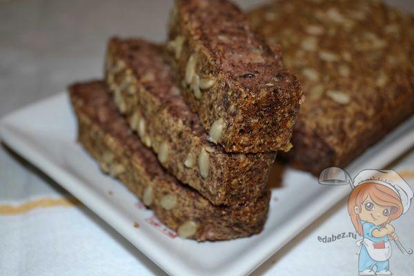 Хлеб из гречки без дрожжей и муки
