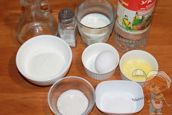 Продукты для блинов без глютена