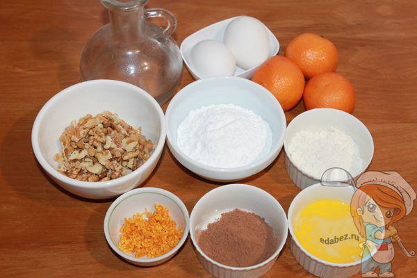 продукты для выпечки кексов
