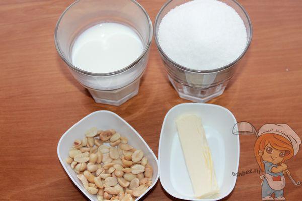 продукты для восточной сладости щербета