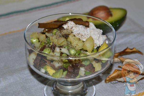 Оливье для вегетарианцев