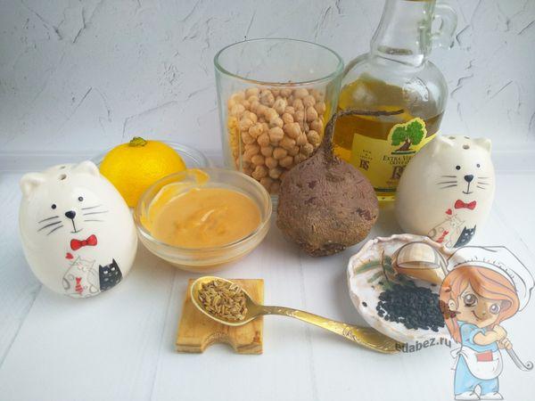 продукты для приготовления хумуса из нута