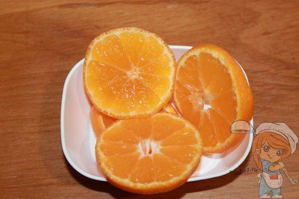 кружки из мандаринов
