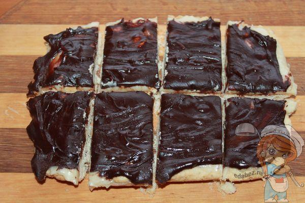 Разрезаем печенье на порции