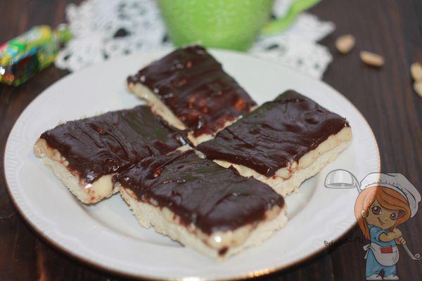 рецепт печенья сникерс