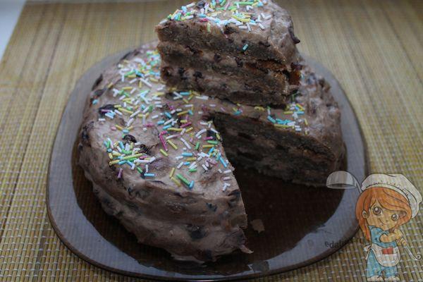 Вкусный торт при диабете