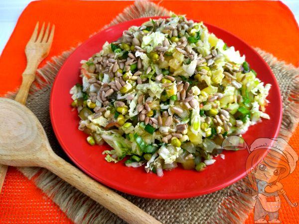 Салат с машем - рецепт с фото