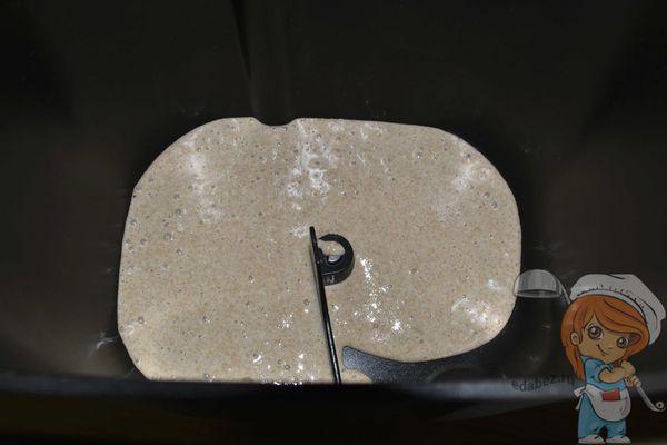 закваска в ведерке хлебопечки