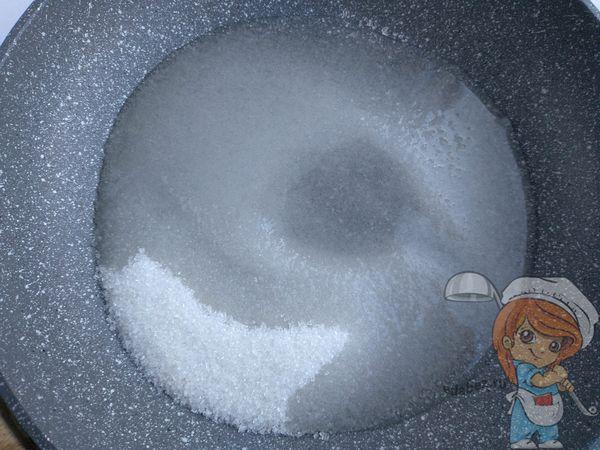 нагреваем сахар