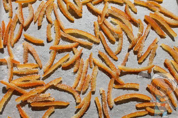 готовим цукаты из апельсиновых корочек