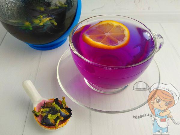 польза синего чая и рецепт