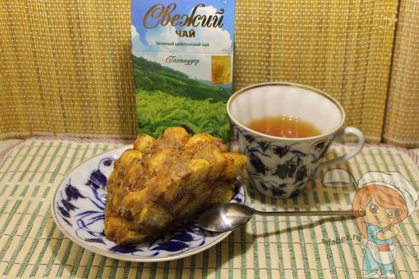 Торт из кукурузных палочек - рецепт