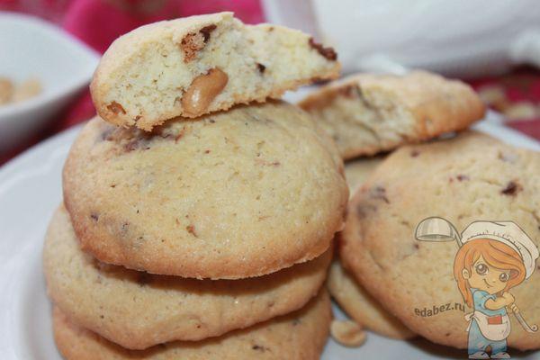 американское печенье - рецепт пошагово с фото