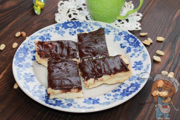 печенье сникерс рецепт с фото