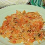 Тушеная пекинская капуста - рецепт приготовления