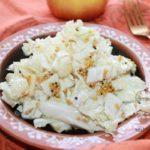 салат из пекинской капусты с яблоком - рецепт