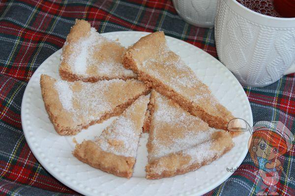 Шортбред рецепт печенья с фото