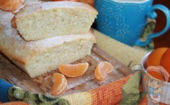 Кекс с мандаринами - рецепт с фото
