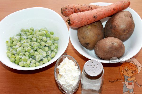 Продукты для аргентинского салата