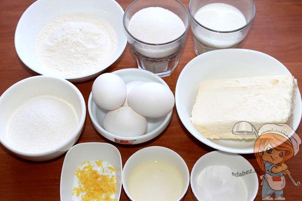 Продукты для рисовых маффинов