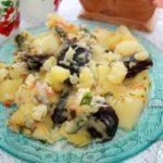 жаркое с картошкой и черносливом - рецепт с фото