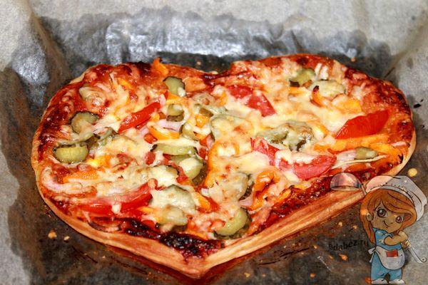 выпекаем пиццу