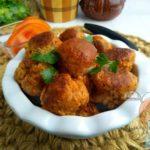 вегетарианские фрикадельки - рецепт с фото