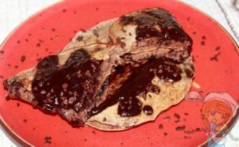 шоколадные панкейки - пошаговый рецепт с фото